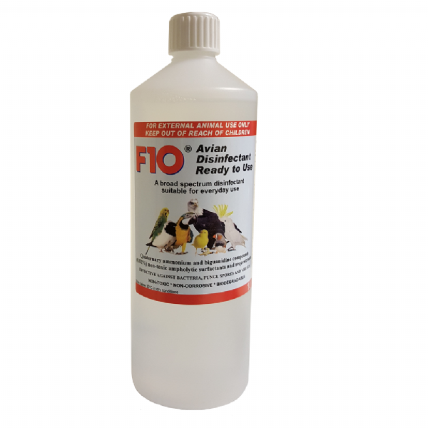 F10 Avian Disinfectant, Ready to Use